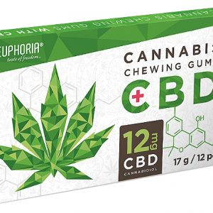 cannabis chewing gum packet