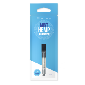 Harmony mint CBD vape cartridge