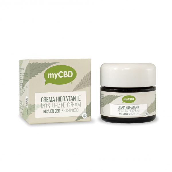 packaging and tub of MyCBD CBD cream